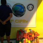 POLICIA: PRE apreende 96 quilos de entorpecente em Brumado