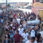 CARNAVAL: Bloquinho Algazarra faz 'esquenta' e agita foliões pelas ruas de Conquista