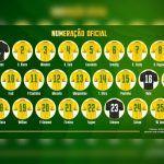 FUTEBOL: CBF divulga a numeração da seleção para os amistosos e Fred fica com a 10 de Neymar