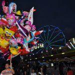 CONQUISTA: Sábado de muita diversão no parque de diversões da Exposição – veja fotos