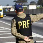 POLÍCIA: Secretária da fazenda e PRF apreederam um caminhão baú com 900 caixas cigarros contrabandeados