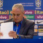 FUTEBOL: Tite divulga lista de convocados para a Copa da Rússia; confira