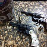 POLÍCIA: PM prende dupla armada no Alto Maron