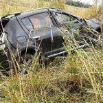 CONQUISTA: Conquistenses saem ilesos de acidente após capotamento próximo a Itambé