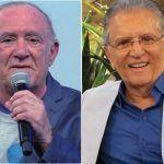 ENTRETENIMENTO: Renato Aragão aceita convite de Carlos Alberto para participar do 'A Praça É Nossa'