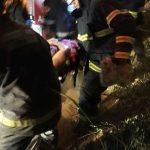 CONQUISTA: Mulher fica ferida após carro capotar em Vitoria da Conquista