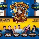 CONQUISTA: Cavalgada Feijão Conquista tem Gabriel Diniz, Dorgival Dantas, Robertinha, Trio da Huanna e muito mais