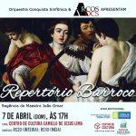 Orquestra Conquista Sinfônica apresenta-se neste domingo (7/4), no Camillo de Jesus Lima