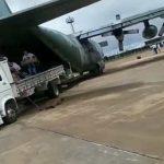 CONQUISTA: Avião da FAB estreia pista do Aeroporto Glauber Rocha