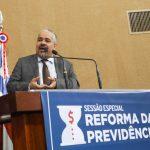 Com plenário lotado, Assembleia Legislativa debate Reforma da Previdência