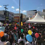 Conquista: Manifestantes ocupam Praça Nove de Novembro em protesto contra medidas de Bolsonaro; veja as fotos