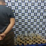 CONQUISTA: PRF apreende 30 Kg de maconha; Vídeo