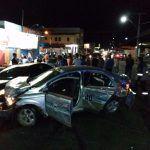 Perseguição e acidente: Rondesp apreende droga e arma com ocupantes de táxi