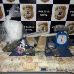Polícia Civil prende homem com grande quantidade de COCAÍNA, ECSTASY E MACONHA na Vila Serrana