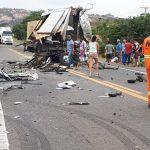 Tragédia na BR-116: acidente envolvendo caminhão da banda de Léo Santana deixa mortos em Itatim