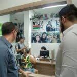 Vereador Valdemir Dias visita ATUV e solicita relatórios de gastos e faturamento