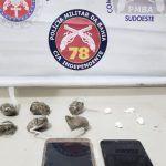 POLÍCIA: Três homens são presos por tráfico de drogas no Bairro Patagônia