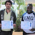 Alunos do curso de Engenharia Civil do IFBA apresentam projetos na França