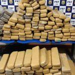 POLÍCIA: 140 kg de maconha são apreendidos pela PRF