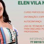 Elen Vila Nova lança mais um curso de oratória em Conquista
