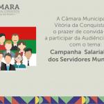 Câmara realiza audiência pública para discutir Campanha Salarial dos Servidores Municipais 2019