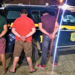 PRF recupera carga roubada avaliada em milhares de reais, apreende drogas e prende organização criminosa na BR 116