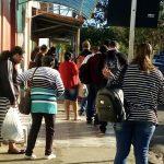 VOCÊ REPÓRTER: Usuários do transporte coletivo reclamam do atraso