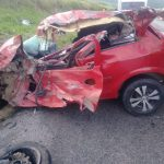 Grave acidente na BR-116 deixa uma pessoa morta e outras duas feridas