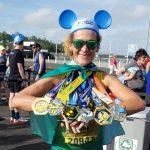Conquistense Suzy Ruas completa o desafio com a maratona 42km na Disney – VÍDEO