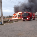 REDAÇÃO BRASIL: PM age rápido e prende dois suspeitos de atear fogo em onibus no Vila Bonita; OUÇA