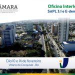 Oficina Interlegis de SAPL 3.1 e E-democracia será realizada na Câmara de Conquista