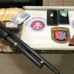 POLÍCIA: Rondesp apreende armas, munições e drogas em condomínio de área nobre