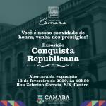 """Memorial Câmara lança a exposição """"Conquista Republicana"""" na próxima quinta-feira"""