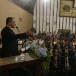 Na Alba, governador destaca forte investimento na educação