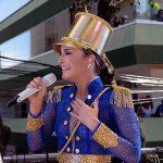 CARNAVAL: No Campo Grande, Cláudia Leite faz homenagem a Maria Quitéria