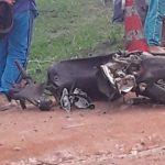 LAGOA DAS FLÔRES: Acidente causa uma morte e deixa outra pessoa gravemente ferida
