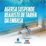 ECONOMIA: Aumento na tarifa da Embasa é suspenso pela Agerba