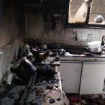 CONQUISTA: Casa pega fogo próximo ao Poço Escuro VEJA