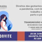 Câmara promoverá audiência pública sobre direitos das gestantes durante a pandemia