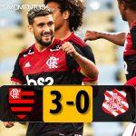 VÍDEO: Na volta do futebol brasileiro, Flamengo vence o Bangu em jogo sem público e sem transmissão