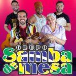 Live de Reencontro do Grupo Samba de Mesa acontece no dia 11 de Julho; Confira