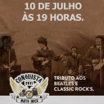 Live em homenagem ao dia do Rock faz tributo aos Beatles e Classic Rock´s