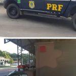Jequié: PRF apreende Ford F-4000 adulterada que utilizava identificação veicular de ambulância do Exército