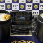 CONQUISTA: PRF apreende 14 kg de cocaína e prende taxista por tráfico de drogas