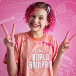 Analú Sampaio venceu mais uma etapa do programa 'The Voice Kids'