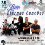 Live 'Eternas Canções' apoia projeto Patrulha Solidária da PM; Confira