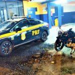 Jequié: PRF apreende moto adulterada na BR 116; Confira