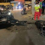 URGENTE: Grave acidente na Avenida Frei Benjamim