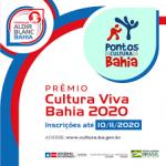 SecultBA lança prêmio para Pontos de Cultura pelo Programa Aldir Blanc Bahia