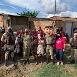 CONQUISTA: Patrulha Solidária PM encerra Campanha do Outubro Rosa acolhendo mulheres no Bairro Morada Nova